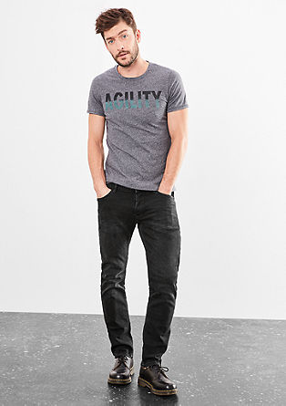 Rick Slim: dark stretch jeans from s.Oliver