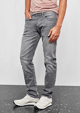 Rick Slim: jean stretch gris de s.Oliver