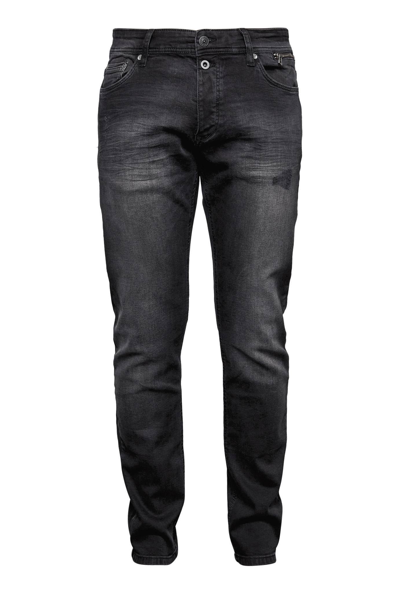 Hose | Bekleidung > Hosen | Grau/schwarz | 99% baumwolle -  1% elasthan | Q/S designed by