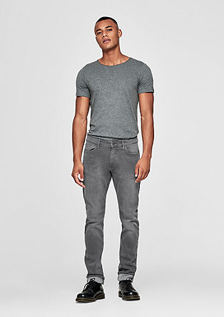 Rick slim: washed denim