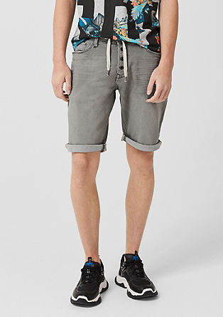 John loose: jogg denim short