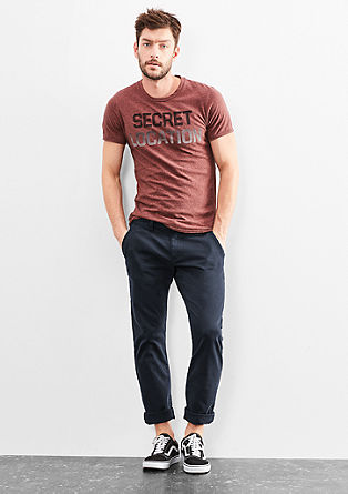Rick Slim: Chino aus Baumwoll-Stretch