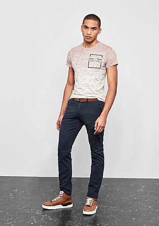 Rick Slim: fashionable chinos from s.Oliver