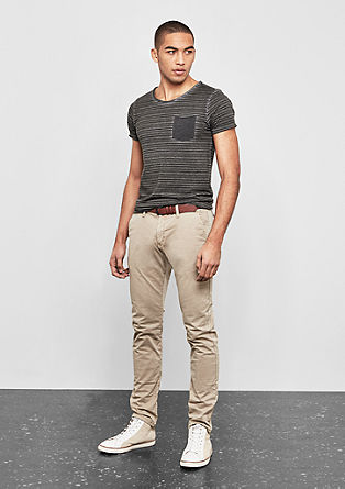 Rick Slim: chinos with a belt from s.Oliver