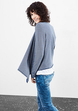 Cardigan in a striped design from s.Oliver