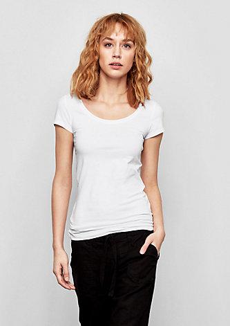Basicshirt aus Jersey