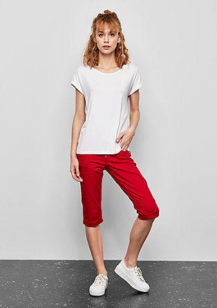 T-shirt oversize en viscose mélangée de s.Oliver