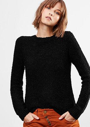 Pullover aus Bouclé-Strick