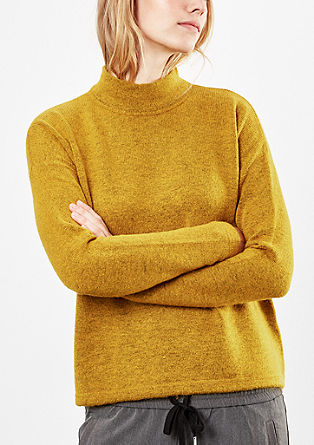 Cosy smooth knit jumper from s.Oliver