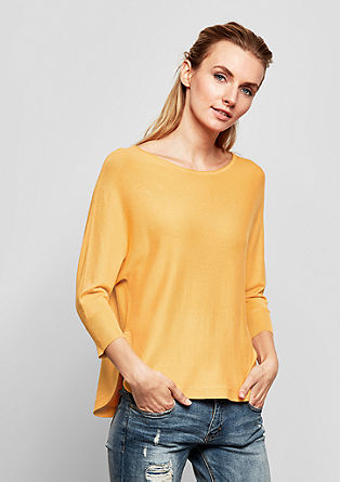 Fine knit batwing jumper from s.Oliver