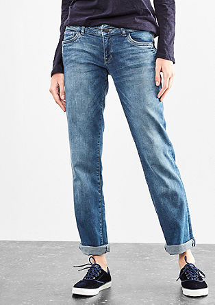 Catie straight: jeans in destroyed look