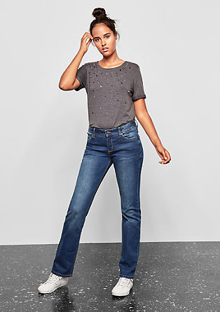 Catie Slim: Blue jeans from s.Oliver