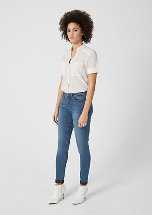 Reena Slim: jean taille haute de s.Oliver