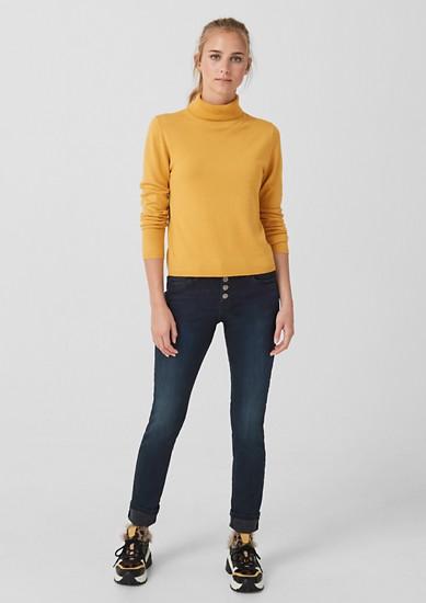 Catie Slim: jean à braguette boutonnée de s.Oliver
