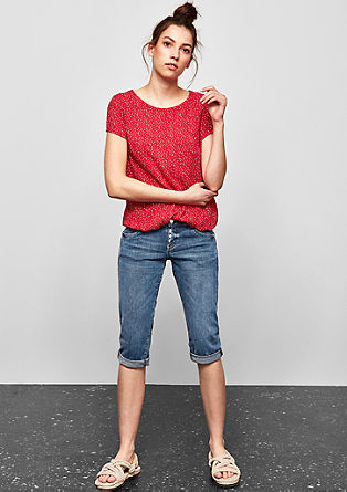Catie Slim: Capri Jeans