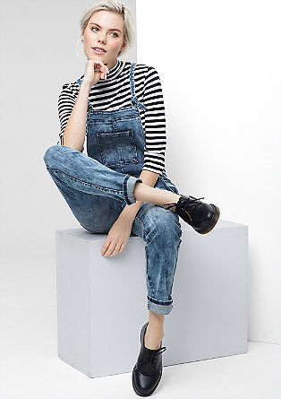 Dungarees in vintage denim from s.Oliver