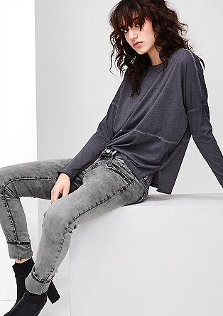 Sadie Super Skinny: Pailletten-Jeans