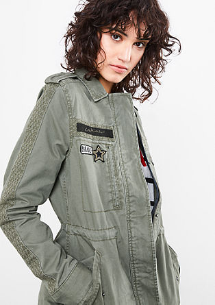 Jacke mit Military-Style