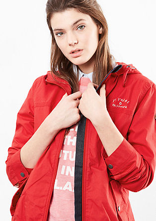 Poplin bomber jacket from s.Oliver