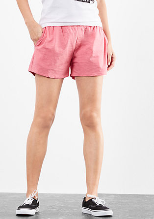 Casual jersey shorts from s.Oliver