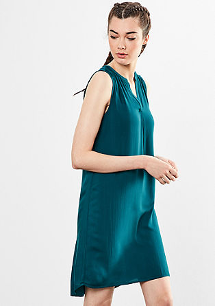 Simple viscose dress from s.Oliver