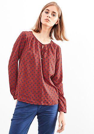 All-over printed blouse van viscose