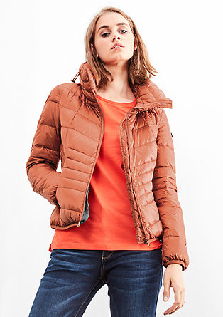 Lightweight quilted down jacket from s.Oliver