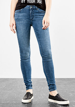 Sadie Superskinny: Softe Stretch-Jeans