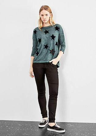 Shirt mit Sternen-Patches