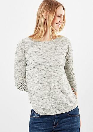 Leichter melierter Pullover
