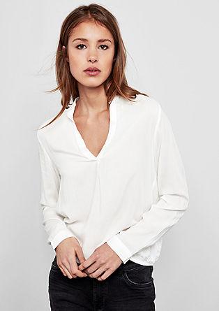 Bluse im Tunika-Stil