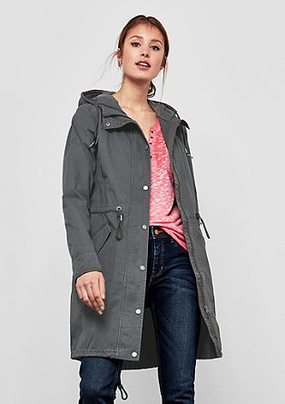 Military-style parka from s.Oliver