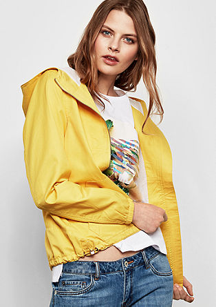 Lightweight summer jacket with a hood   from s.Oliver
