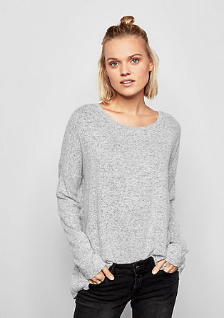 Casual shirt in wollen look