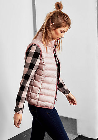 Sporty quilted body warmer from s.Oliver
