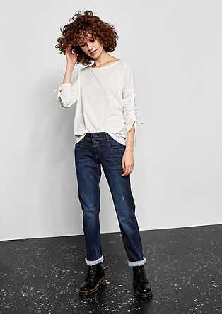 Catie Slim: dark jeans from s.Oliver