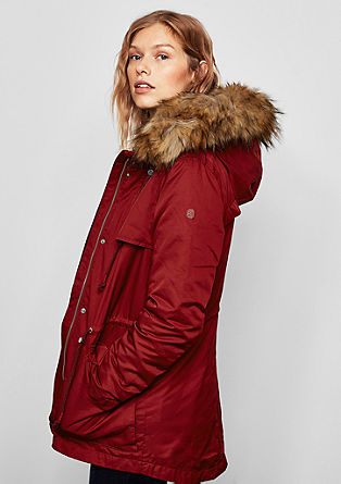 2-in1-Parka mit Steppjacke