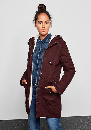 2-in-1 lined parka from s.Oliver
