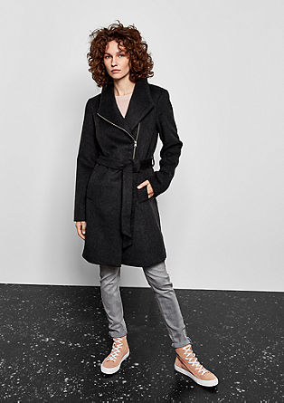 Wool blend coat from s.Oliver