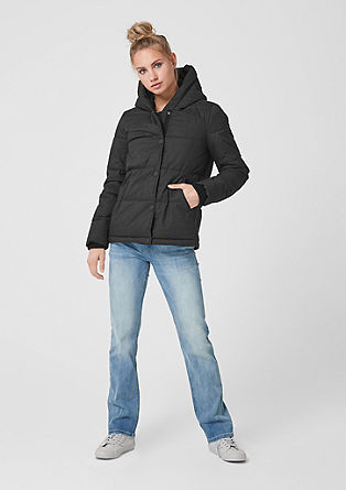 Puffer jacket with hood from s.Oliver