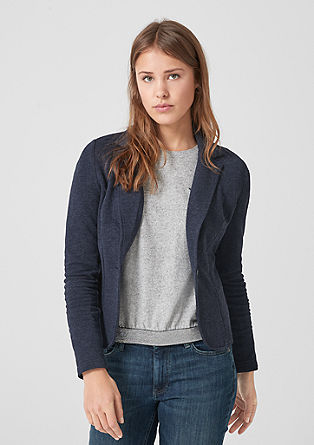 Korte sweatblazer