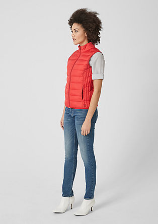 Lehká prošívaná vesta