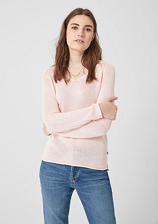 Ohlapno pleten pulover