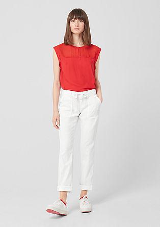 Abby Regular: pantalon en lin de s.Oliver