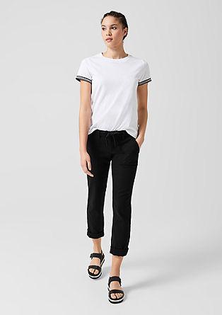 Abby Regular: Lněné kalhoty
