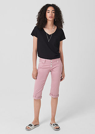 Catie Slim: Capri trousers from s.Oliver