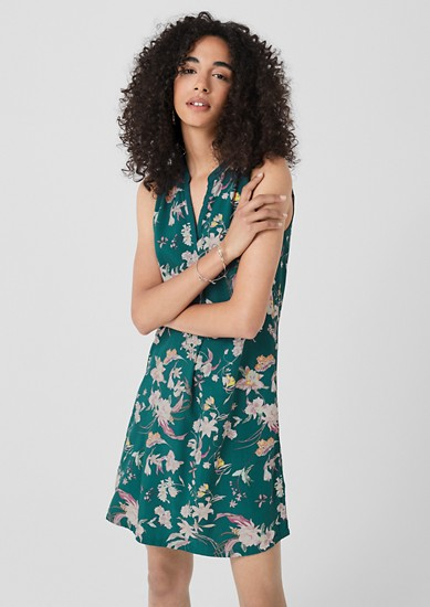 Tunic dress with a printed pattern from s.Oliver