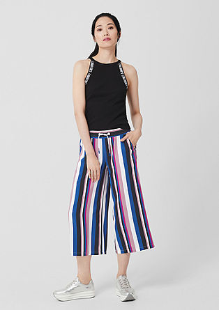 Culottes in fine woven fabric from s.Oliver