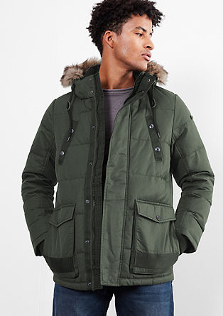 Down jacket in twill from s.Oliver