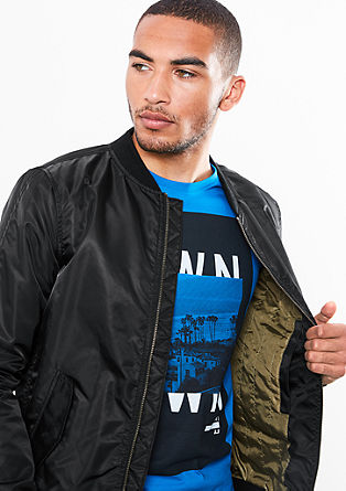 Shiny bomber jacket from s.Oliver